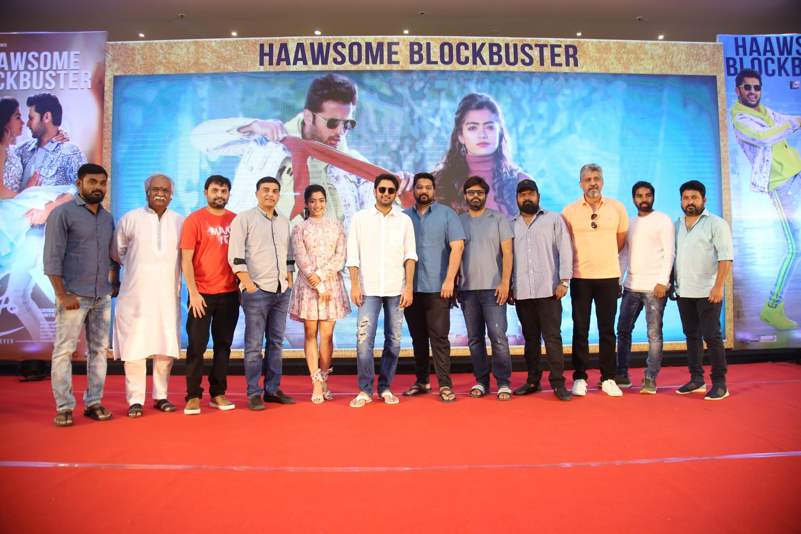 Photo of Bheeshma Success Meet Photos