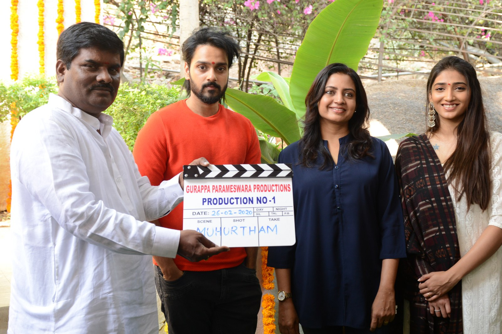 Photo of Sumanth Ashwin New Movie Opening