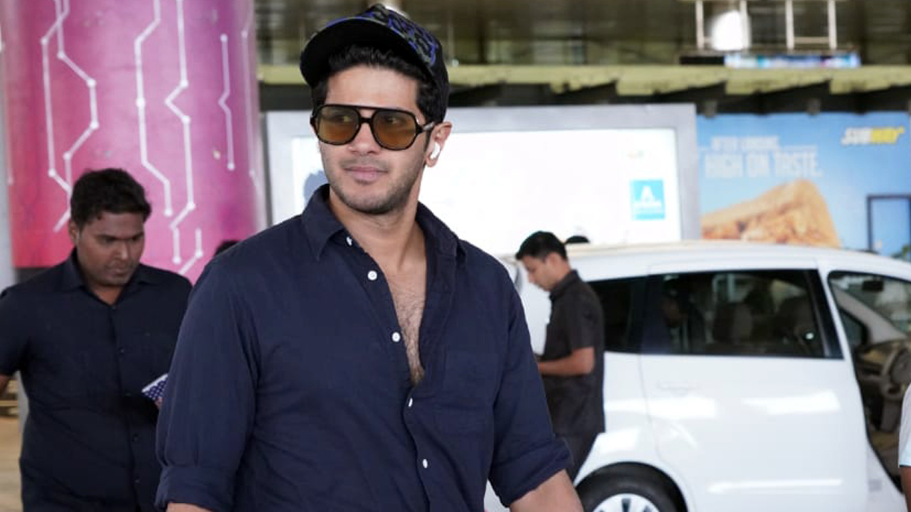 Photo of Dulquer Salmaan Photos at Airport