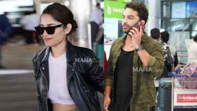 Photo of HIT Movie Team at Hyderabad Airport