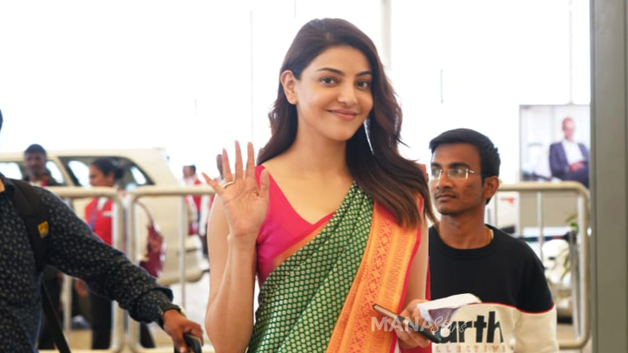 Photo of Kajal Aggarwal Photos at Airport