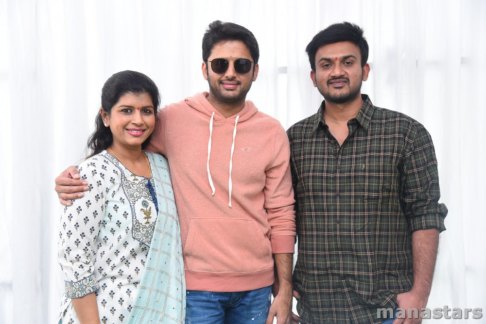 Photo of Nithiin's New Movie Launch Pictures