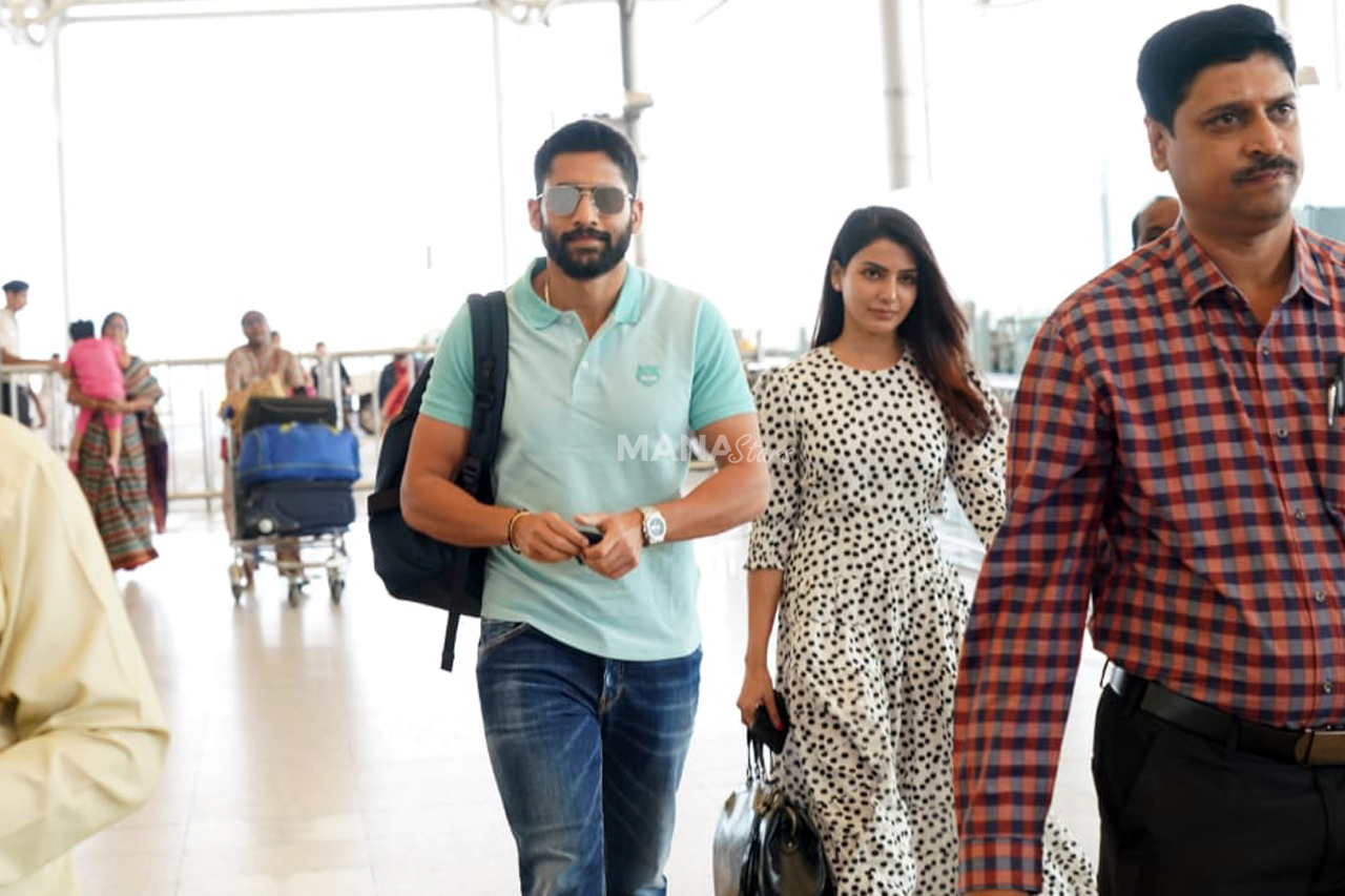 Photo of Naga Chaitanya And Samantha Photos at Airport