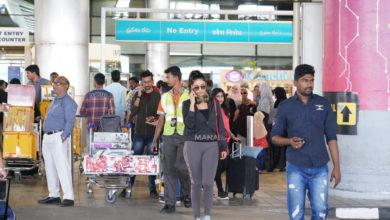 Photo of Nivetha Pethuraj Photos at Airport