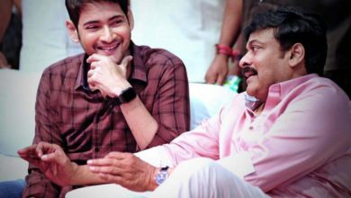 Photo of Mahesh Babu in Chiranjeevi's next!!