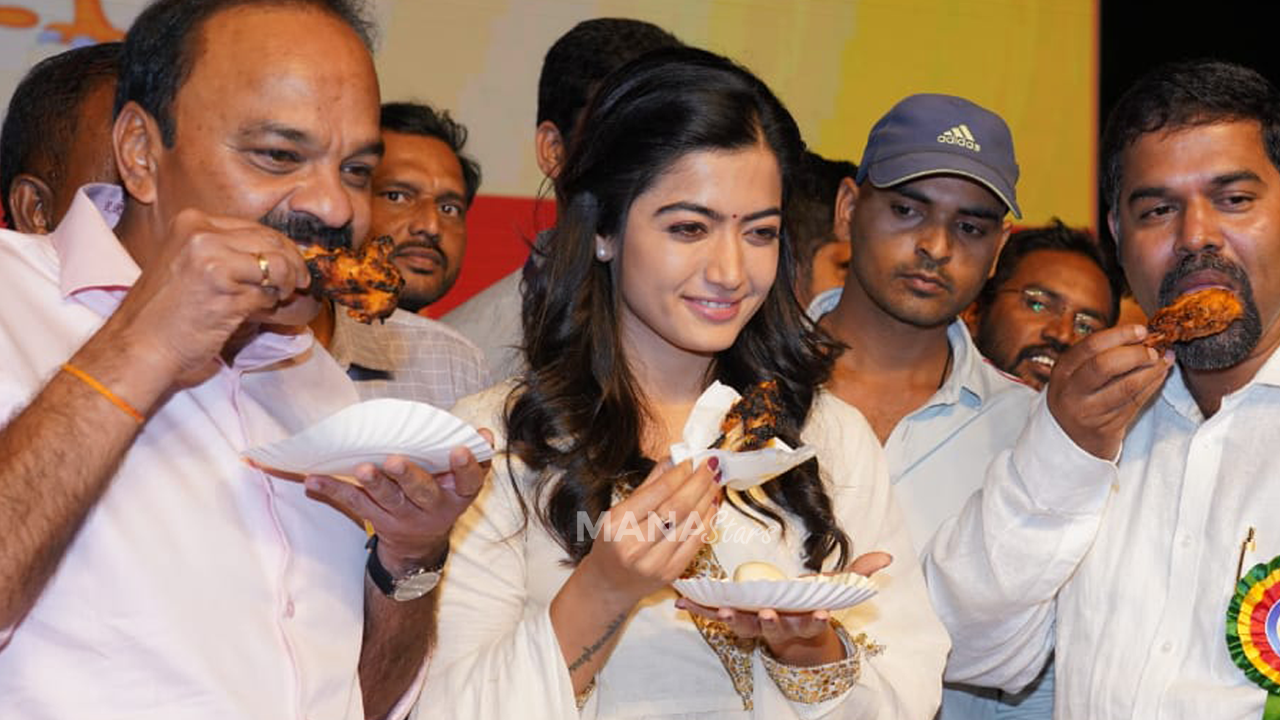 Photo of Rashmika at Chicken And Eggs Mela
