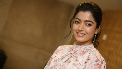 Photo of Rashmika Mandanna smily looks