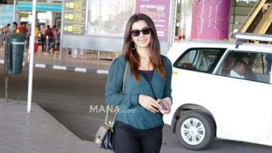 Photo of Nikki Galrani Photos at Airport