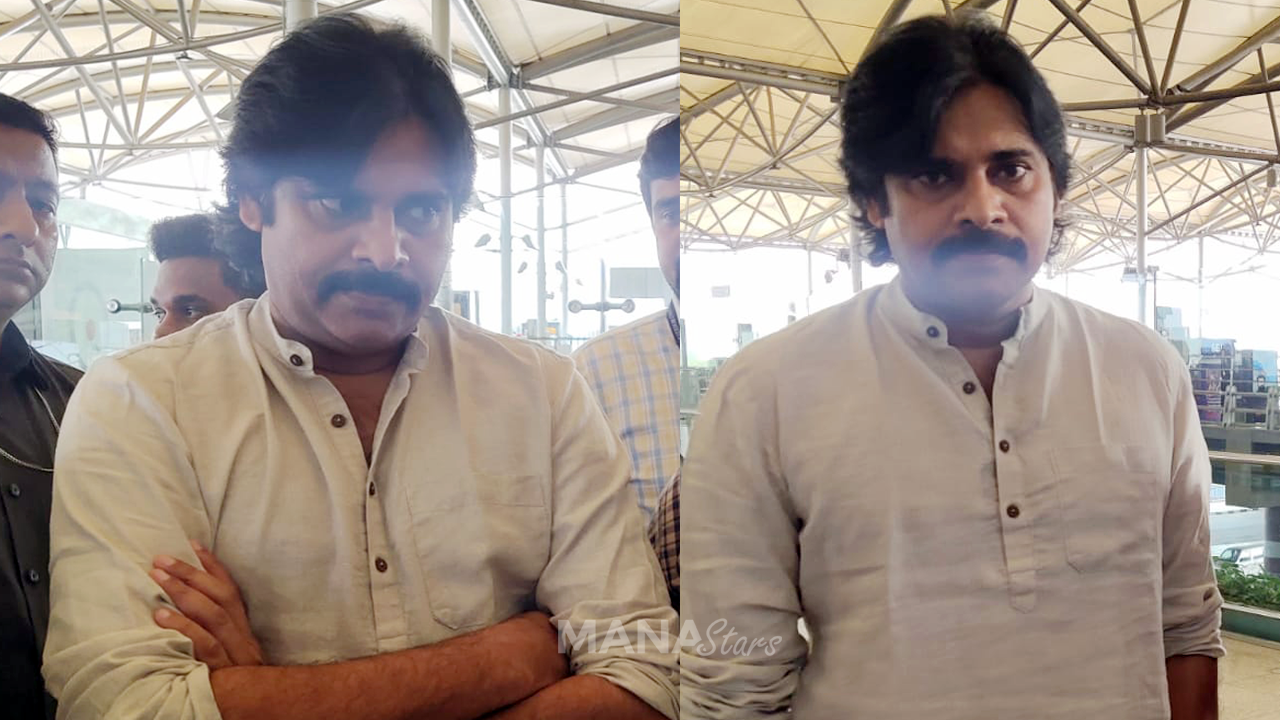 Photo of Pawan Kalyan Photos at Airport