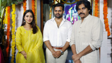 Photo of Pawan Kalyan Photos @ SDT 14 Movie Launch
