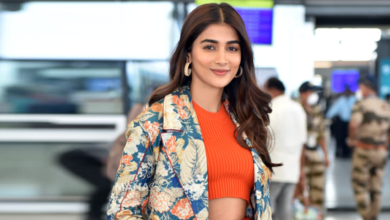 Photo of Pooja Hegde Photos at Airport