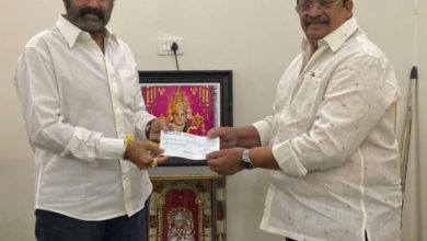 Photo of Chiru lauds Balakrishna's Heartful Donation