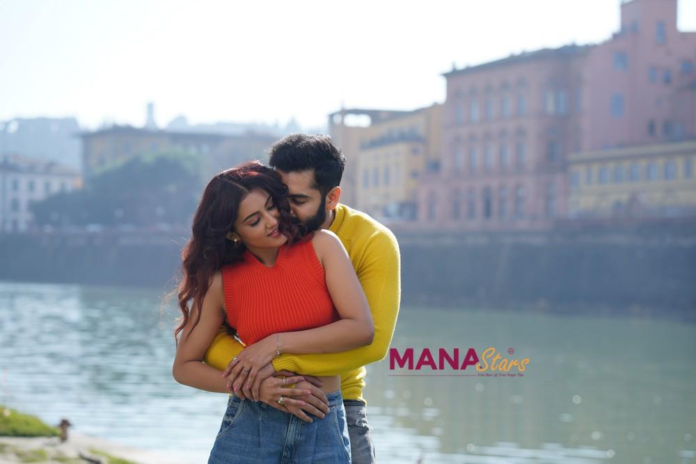 Photo of Ram's Red Movie@Italy stills