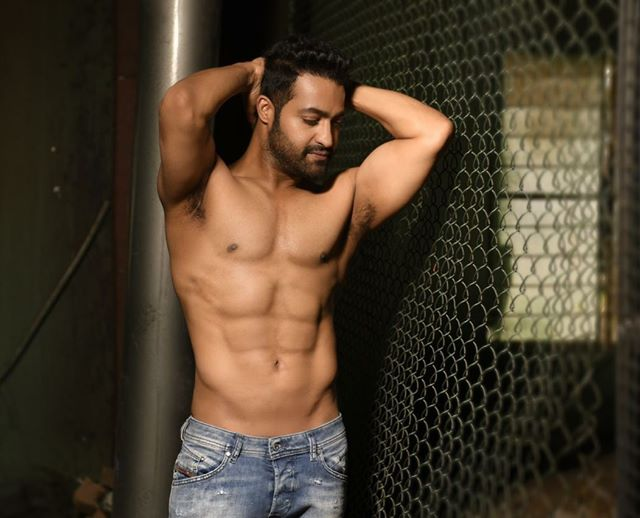 Photo of Jr.NTR Stylish Shirtless Photo Attracting All