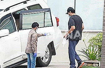Photo of Chiranjeevi Spotted At Jubilee Hills