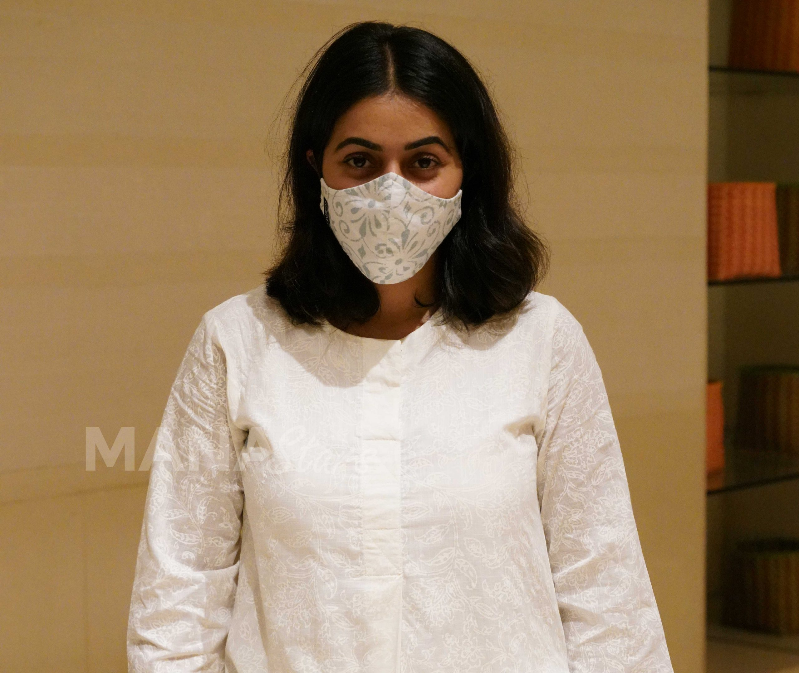 Photo of Actress Poorna Snapped At Hyderabad