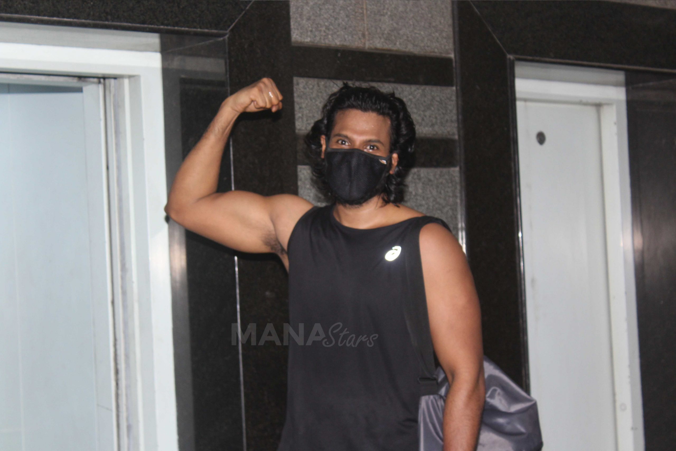 Photo of Sundeep Kishan Spotted At Gym Pictures