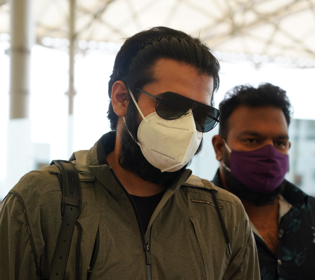 Photo of Actor Ram Spotted At Hyderabad Airport