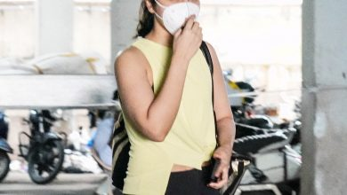 Photo of Raashi Khanna Spotted At Hyderabad GYM