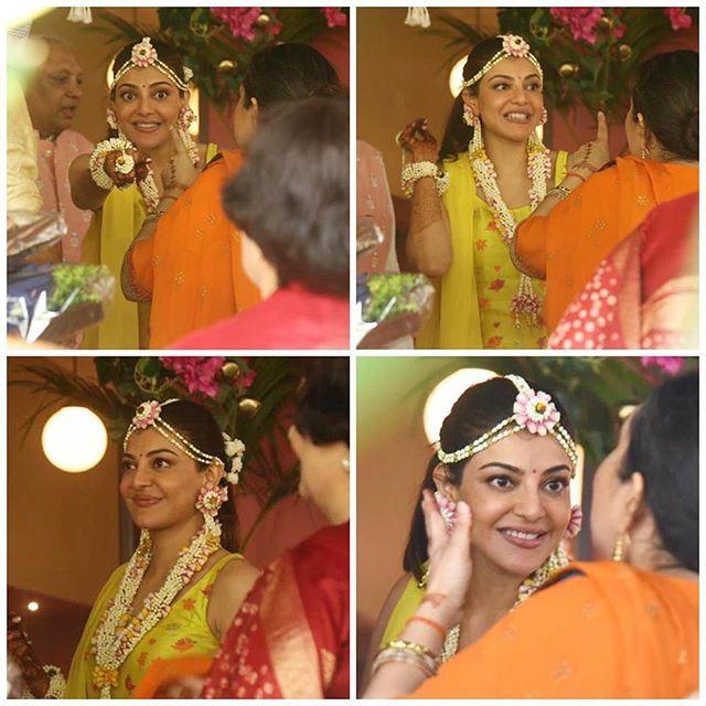 Kajal Aggarwal's pre wedding pictures