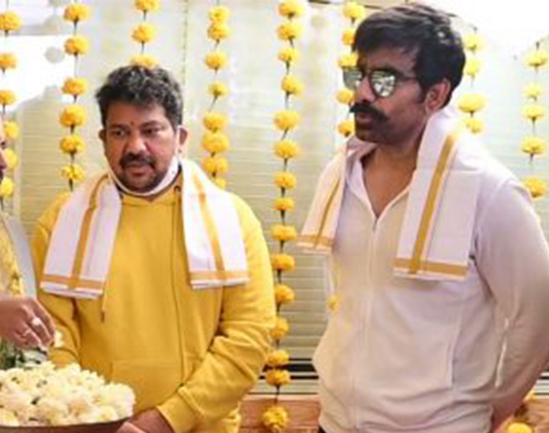 Ravi Teja's Khiladi Movie Launched