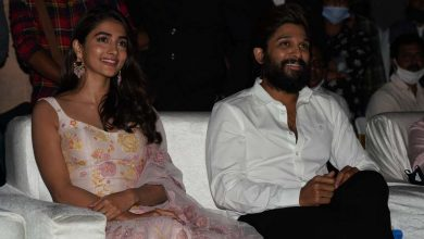 Photo of Pooja Hegde at AVPL reunion bash