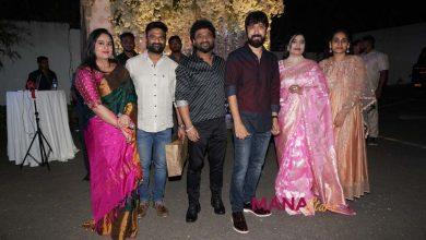 Photo of Celebs At Sukumar daughter half saree function