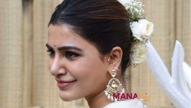 Photo of Samantha at Shakuntalam launch