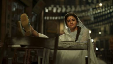 Photo of Aliya Bhatt as Gangu Bai Posters