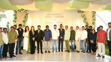 Photo of Ram Charan,Director Shankar Movie launched
